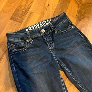 Women's Hydraulic Lola Curvy Denim Blue Jeans